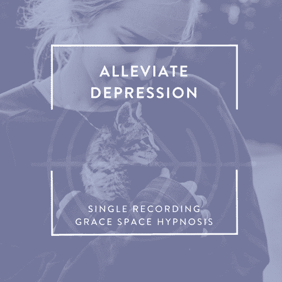 Cover image for Alleviate Depression with Hypnosis Recording